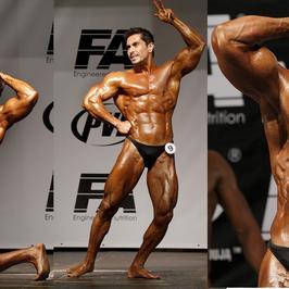 Mąż Skrzyneckiej prezentuje muskuły