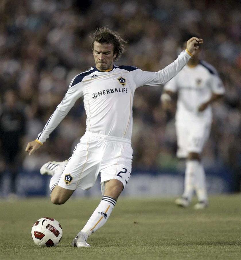 Żona pozwoliła Beckhamowi na zmianę klubu