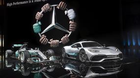 IAA Frankfurt 2017: Mercedes-AMG Project One z techniką Formuły 1