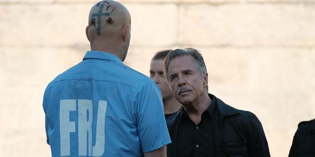 """""""Brawl in Cell Block 99"""": kadr z filmu"""