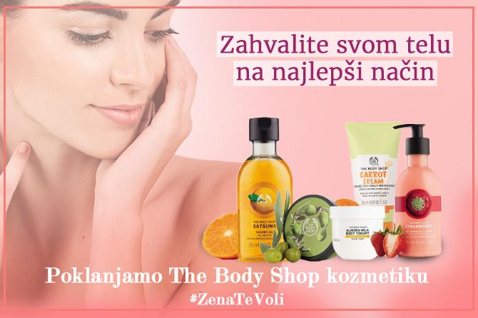 Danas poklanjamo The Body Shop proizvode