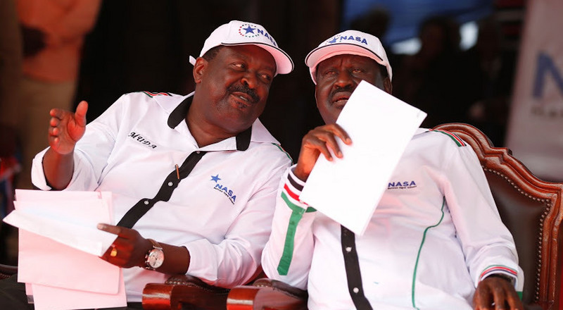 ODM clash with ANC's Musalia Mudavadi over Wetang'ula's ouster as Ford Kenya Party Leader