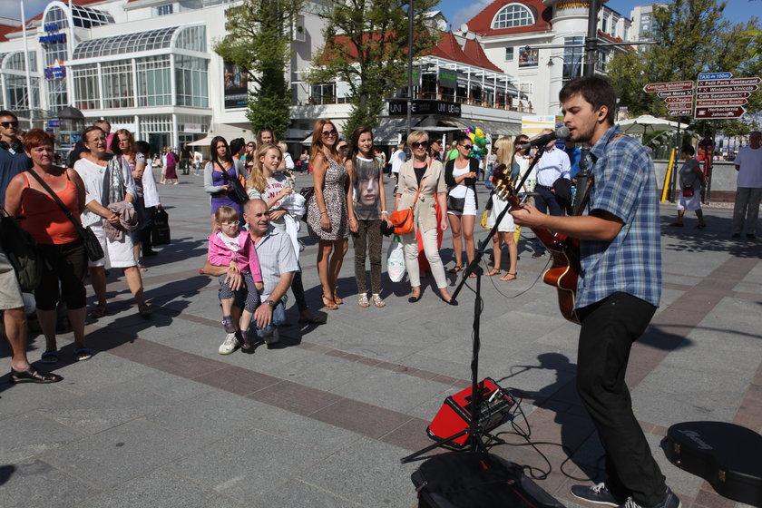 Artem Furman (23 l.) gra dla sopocian