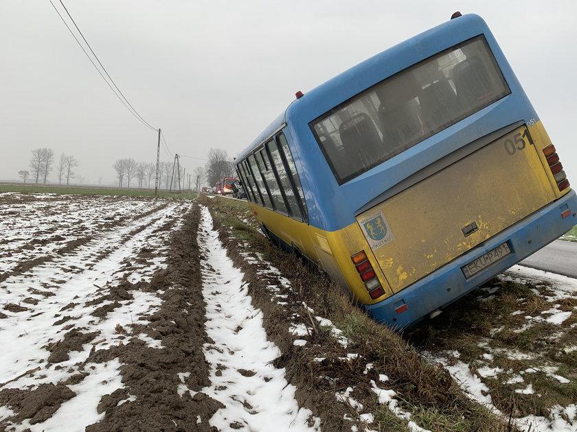 Groźny wypadek koło Kutna.
