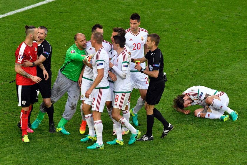 Austria – Węgry 0:2 na Euro 2016