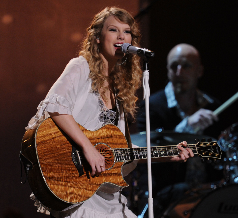 Taylor Swift w 2010 roku