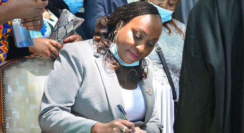 Nairobi Deputy Governor Anne Kananu Mwenda