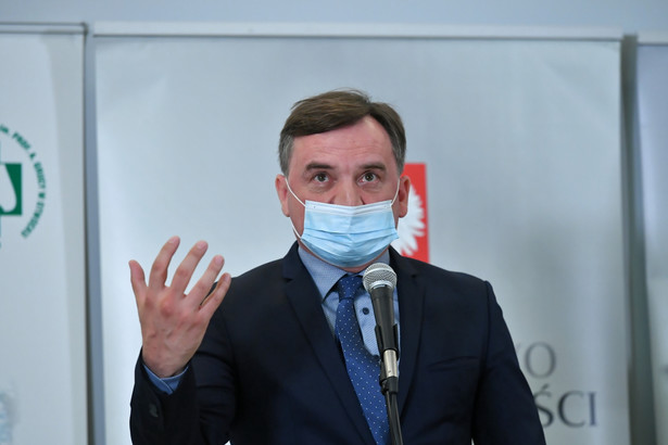 Minister sprawiedliwości Zbigniew Ziobro, /Piotr Nowak