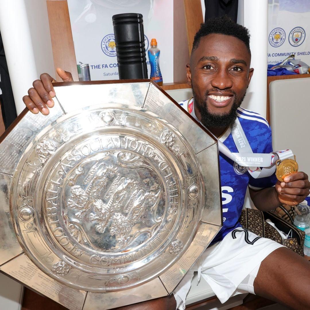 Wilfred Ndidi won the title on Saturday (Instagram/Wilfred Ndidi)