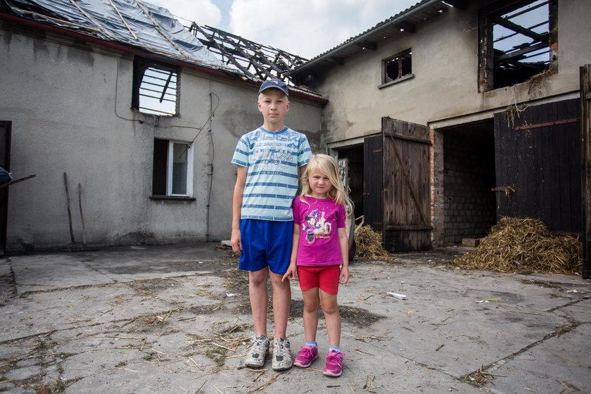 Rodzina Kaczmarków potrzebuje pieniędzy na remont domu