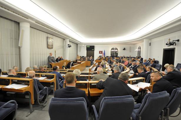 W Senacie w piątek odbyła się debata nad uchwaloną w czwartek przez Sejm ustawą o Sądzie Najwyższym.