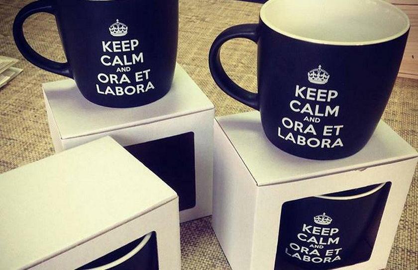 Keep calm & ora et labora