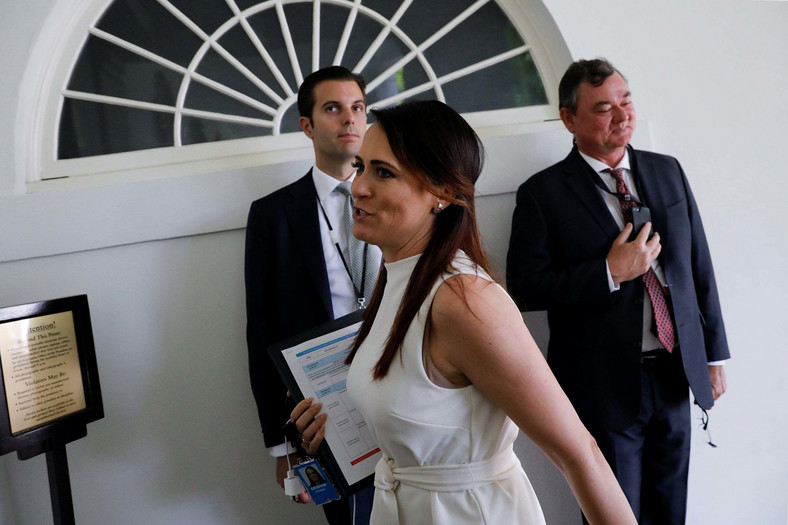 Stephanie Grisham is White House Press Secretary (Evening Standard)
