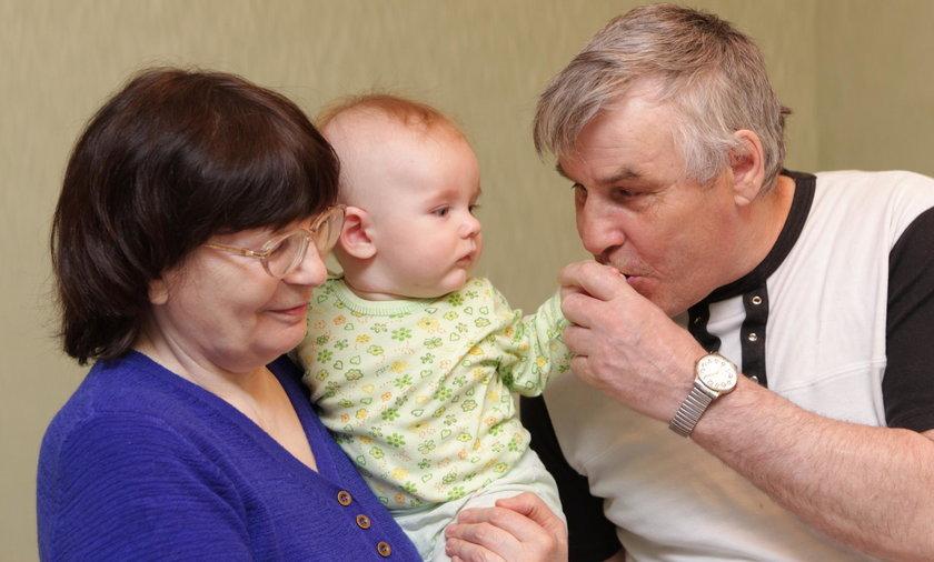 Zachowanie dziadków