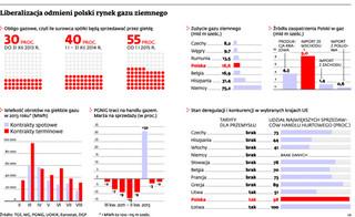 Gaz w Polsce będzie tanieć. Jednak na razie głównie ten dla przemysłu