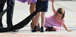 Księżnej Kate puściły nerwy. Charlotte w histerii
