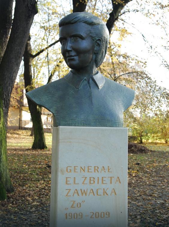 Pomnik Elżbiety Zawadzkiej w krakowskim Parku Jordana