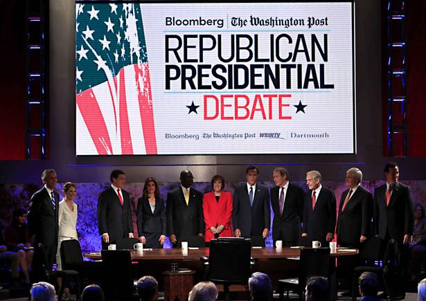 Debata Republikanów przed prawyborami