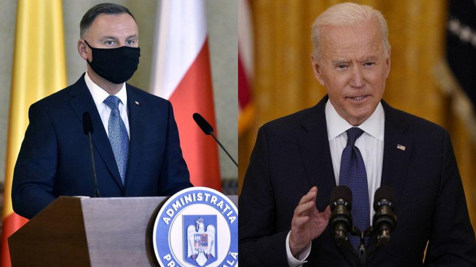 USA: Biden chce współpracy z Europą Wschodnią. Podkreśla znaczenie praworządności