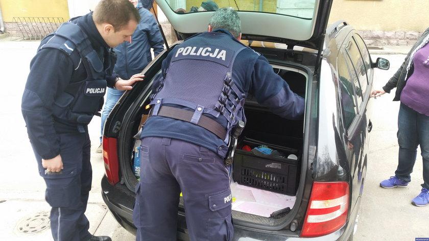Nidziccy policjanci uczestniczyli w nietypowej interwencji