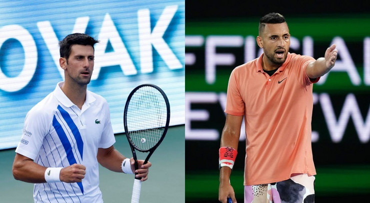 Novak Đoković i Nik Kirjos