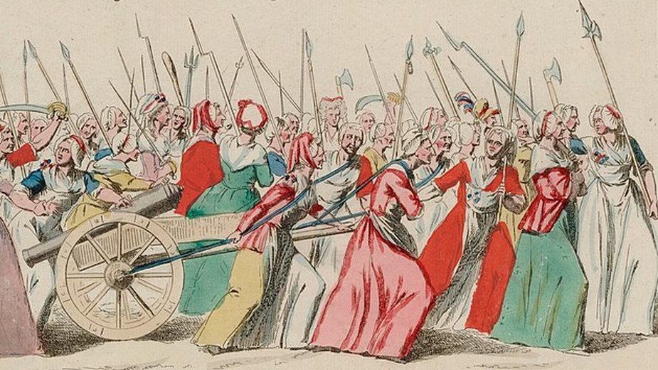 Marsz kobiet na Wersal - domena publiczna
