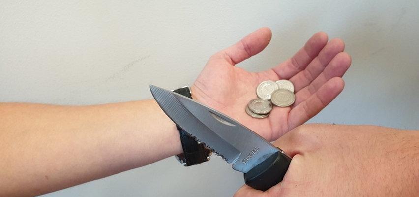 Nożownik zaatakował we Wrocławiu. Groził śmiercią dla pięciu złotych