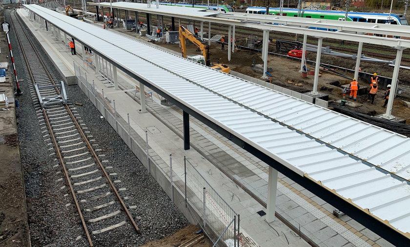 Nowy peron będzie czynny od 19 listopada