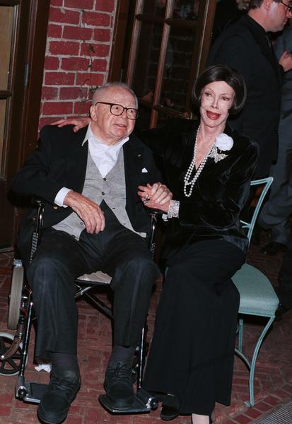 Billy Wilder z żoną, 2000 r.