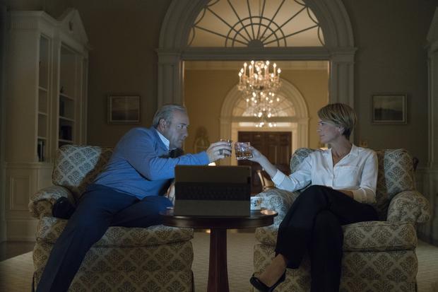 """""""House of Cards"""": kadr z 5. sezonu serialu"""