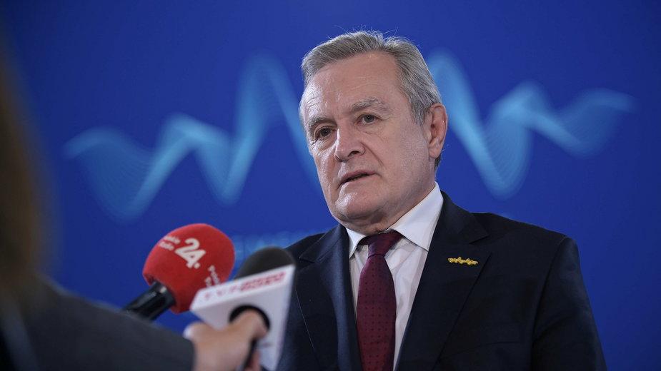 Wicepremier, minister kultury, dziedzictwa narodowego i sportu Piotr Gliński