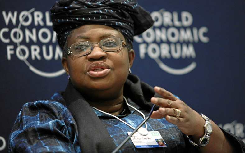 Ngozi Okonjo-Iweala was formerly a Vice President of the World Bank (Davos)