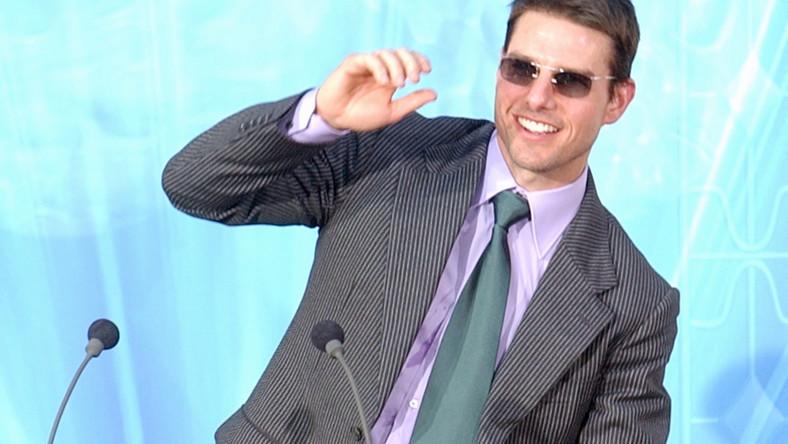 Tom Cruise przemawia w świątyni scjentologów w Madrycie