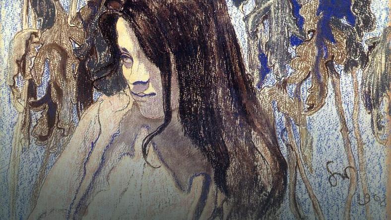 Portret Elizy Pareńskiej autorstwa Stanisława Wyspiańskiego 1902 rok.