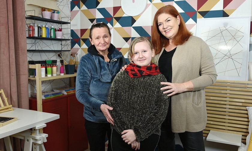 """Katarzyna Dowbor w """"Nasz nowy dom"""" poznała panią Anię, której córka zmarła na nowotwór żołądka"""