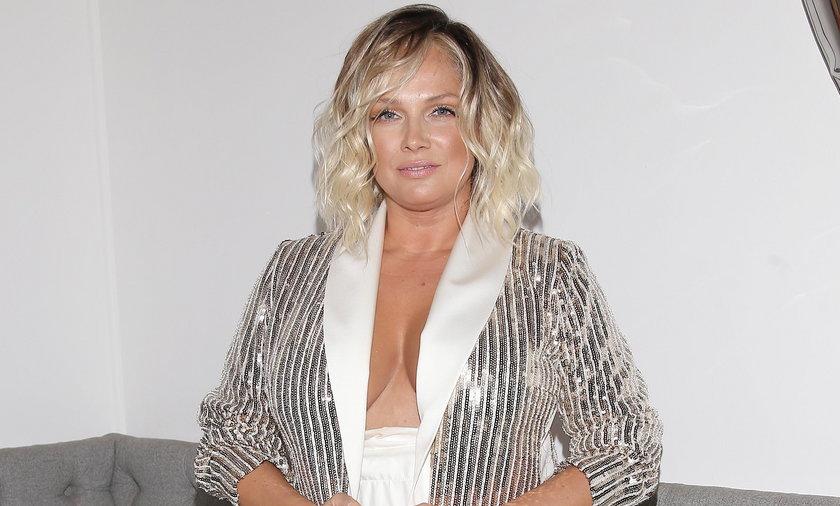 Joanna Liszowska wczuła się w wakacyjny klimat.