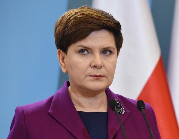 Chodzi o słowa premier Beaty Szydło, która zapowiedziała, że nie widzi możliwości, by w tej chwili migranci przyjechali do Polski.