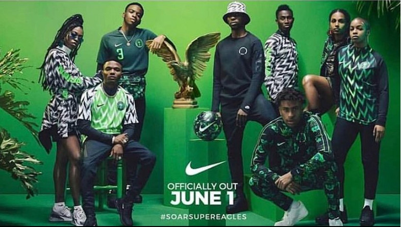 The official Nike Super Eagles jersey campaign