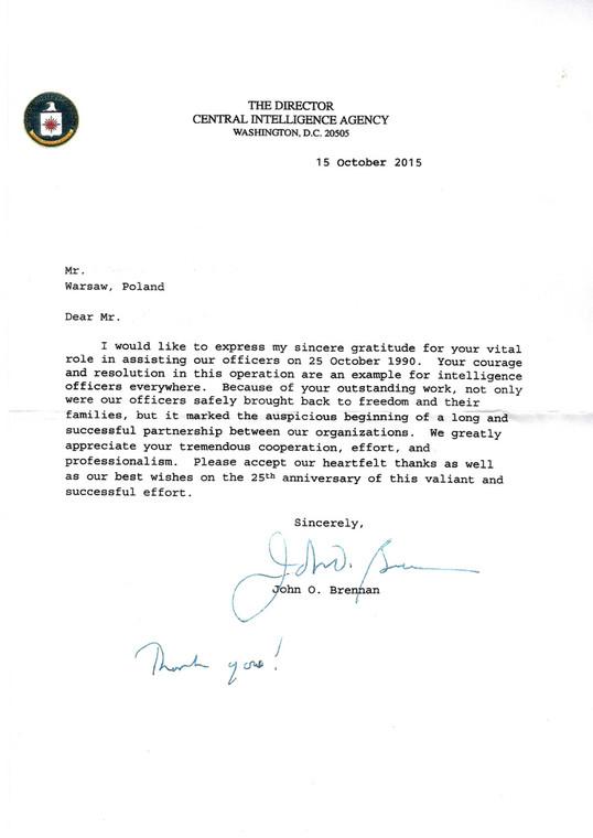 List autorstwa Johna O. Brennana
