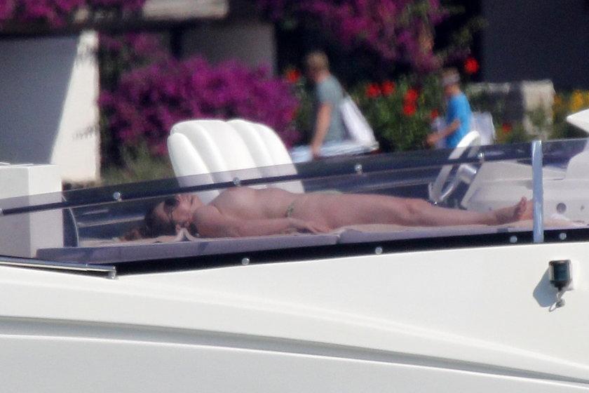 Żona Berlusconiego