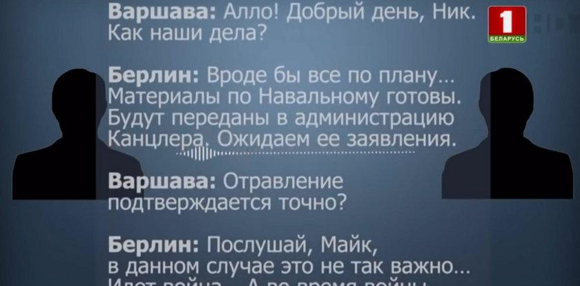"""Białoruś publikuje """"przechwyconą"""" rozmowę telefoniczną Berlina z Warszawą. Internet pęka ze śmiechu"""