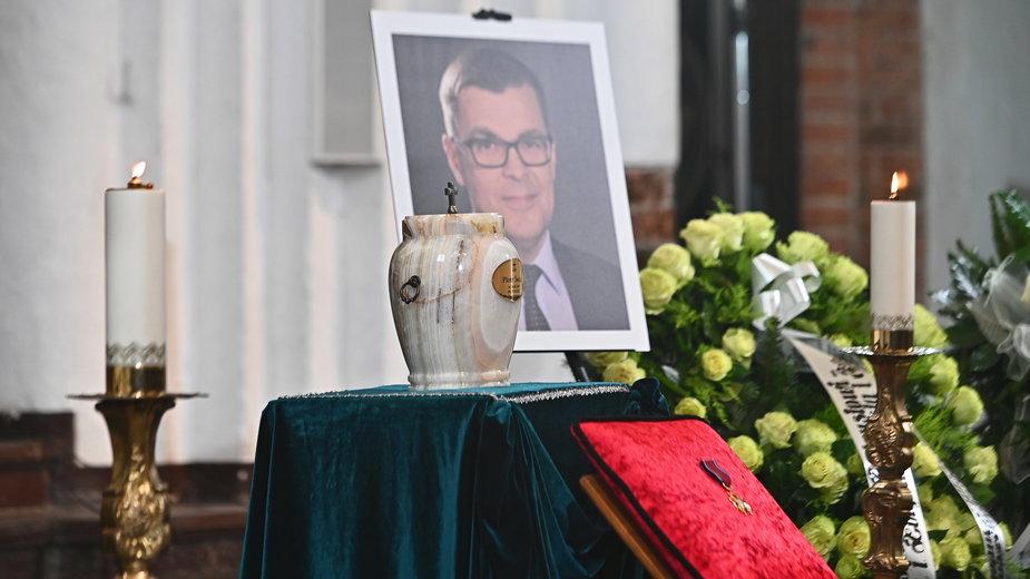 Pogrzeb Piotra Świąca odbył się 13 marca tego roku