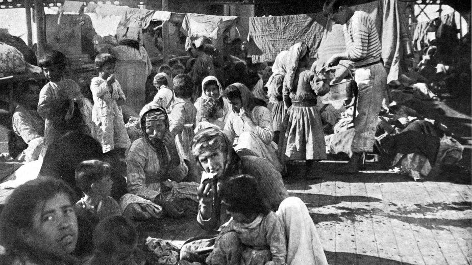 Ormiańscy uchodźcy, 1915 r.