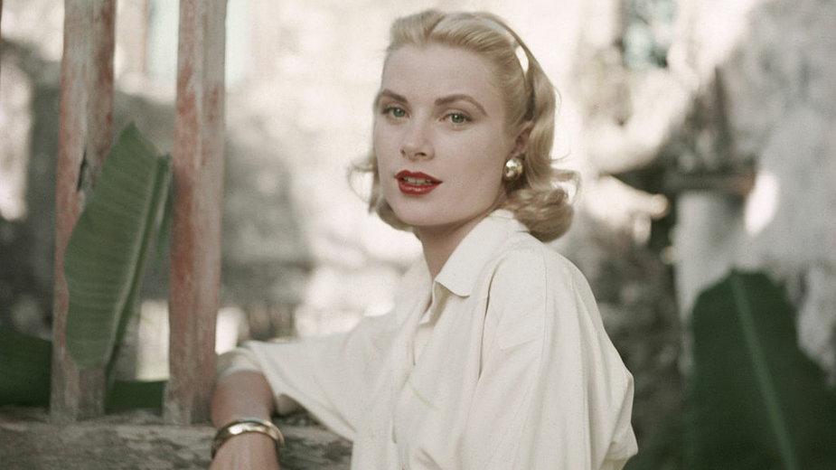 Grace Kelly w 1955 r.