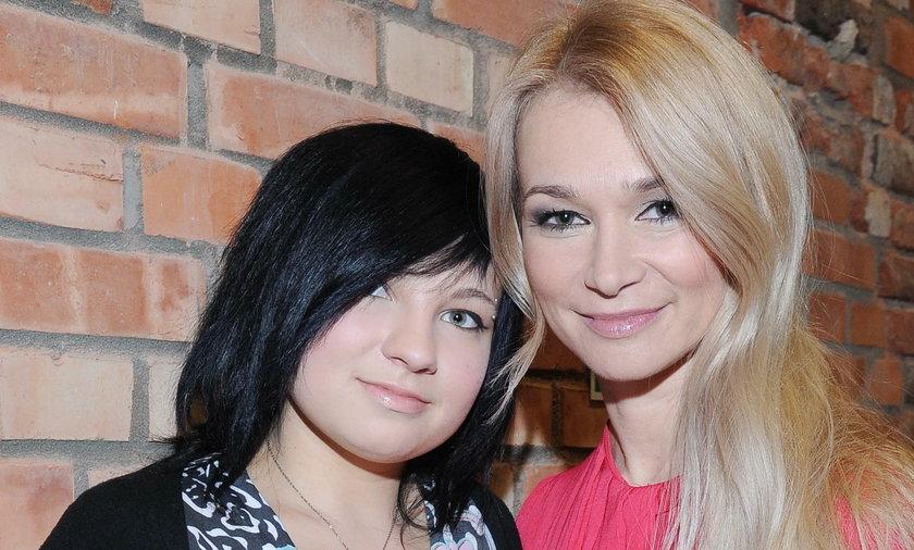 Ewa Pacuła z córką Nicole Saleta