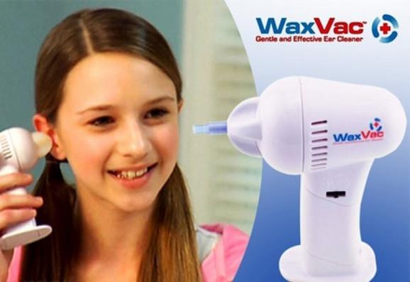 WaxVac aparat začišćenje ušiju