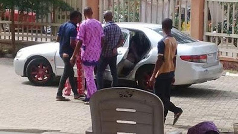 Seun Egegbe whisked away after court session