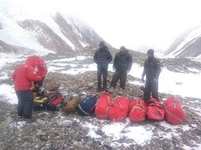Akcja ratunkowa pod Nanga Parbat. Ekipa ratunkowa rozpoczęła wspinaczkę