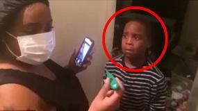 Okrutny żart na Halloween: Powiedzieli synowi, że ma Ebola