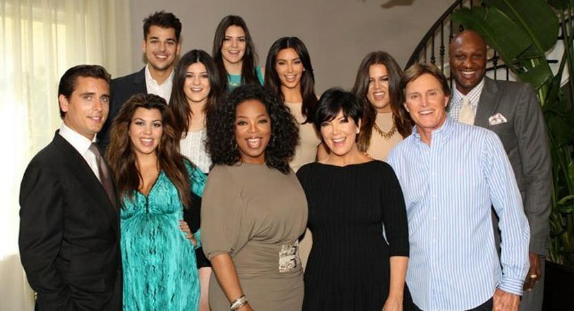 Oprah winfrey and the Kardashians-Jenners